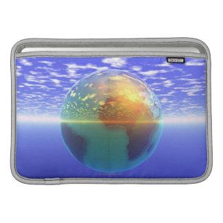 3D Globe 9 MacBook Air Sleeves