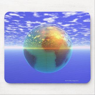 3D Globe 9 Mouse Mat