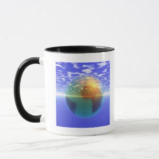3D Globe 9 Mug