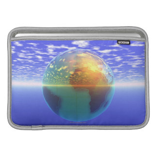 3D Globe 9 Sleeve For MacBook Air