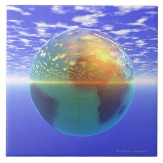 3D Globe 9 Tile