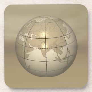 3D Globe Coaster