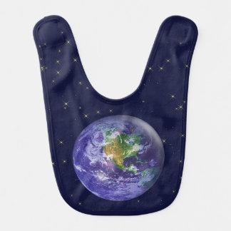 3D Globe Earth Day Bib