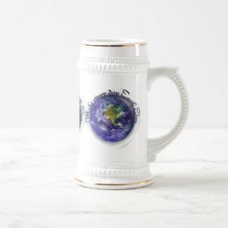 3D Globe Earth Day Beer Steins
