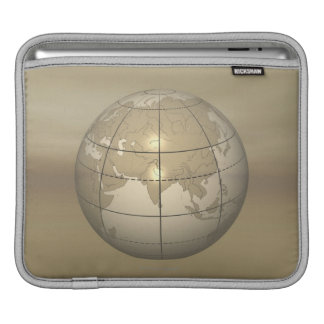 3D Globe iPad Sleeve
