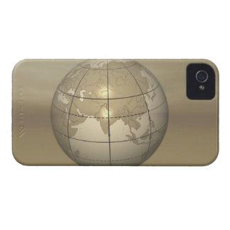 3D Globe iPhone 4 Case