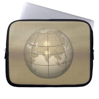 3D Globe Laptop Sleeve