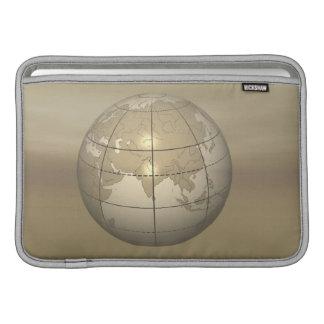 3D Globe MacBook Sleeves