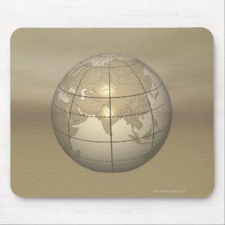 3D Globe Mouse Mat