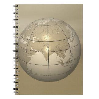 3D Globe Notebook