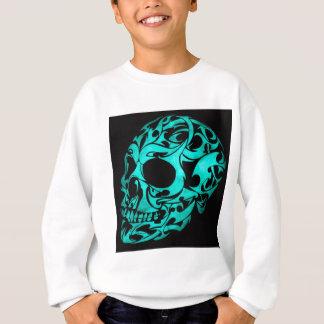 3D gothic skull Sweatshirt