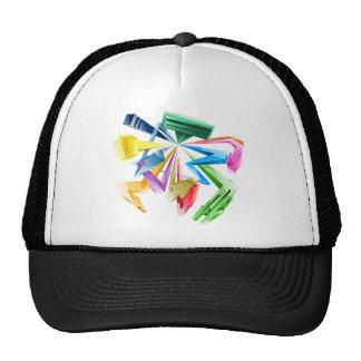 3d Graffiti Trucker Hats