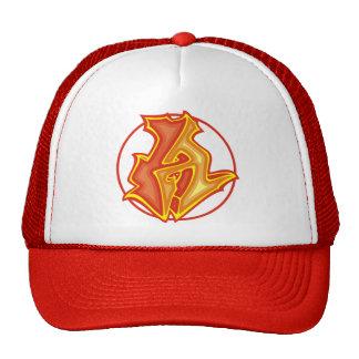 3d Graffiti Logo - A - Trucker Hat