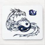 3D GWC Tattoo - The Grey War Chronicles Mouse Pad