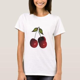 3D Halftone Cherries T-Shirt