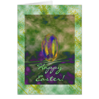 3D Happy Easter! Greeting Card