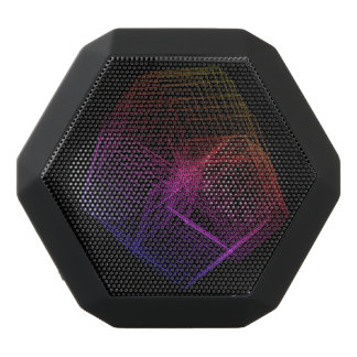 3D-Hexi Black Bluetooth Speaker