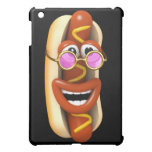 3d Hot Dog Cool Pink Shades Case For The iPad Mini