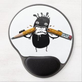 3d humor funny artwork pencils gel mouse mat