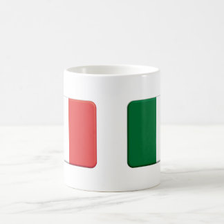 3d Italian Flag Mug