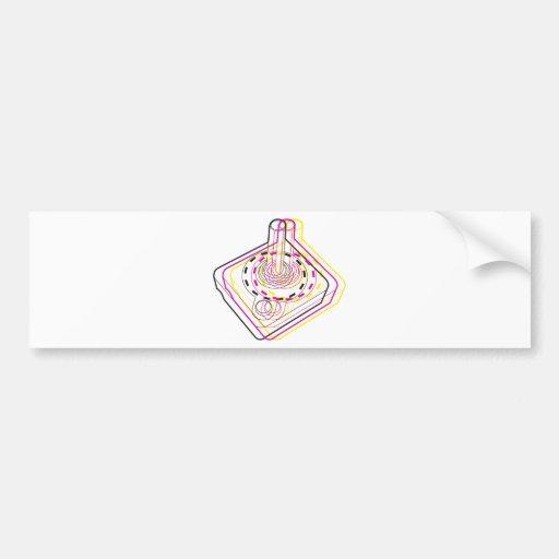 3d Joystick Bumper Stickers