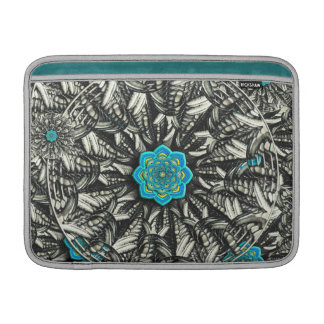 3D Lotus Mandala Macbook Air Sleeve