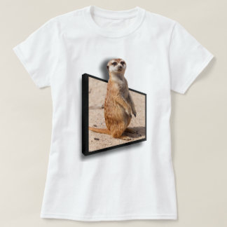 3D Meerket | Poking out of a frame  Special Effect T-Shirt