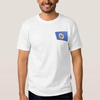 3D Minnesota State Flag Tee Shirts