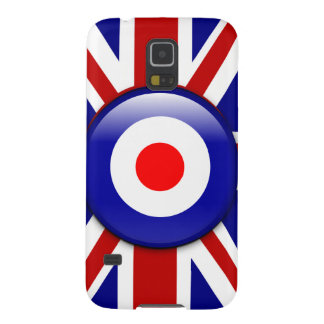 3D Mod target on Union jack print Galaxy S5 Cover