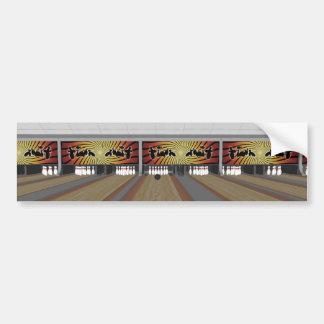3D Model: Bowling Alley: Bumper Stickers