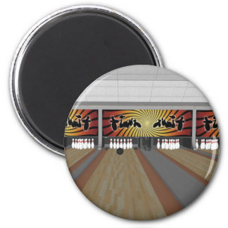 3D Model: Bowling Alley: Magnet