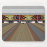 3D Model: Bowling Alley: Mousemat