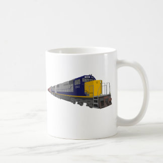 3D Model: Freight Train: Railroad: Coffee Mug