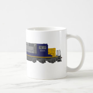 3D Model: Train Engine: Railroad: Coffee Mug