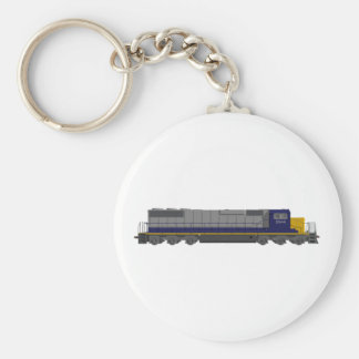 3D Model: Train Engine: Railroad: Key Ring