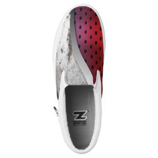 3D Modern Metal Texture Slip-On Shoes