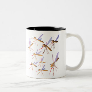 3d Mosquitoes - Bug Hunt Two-Tone Coffee Mug