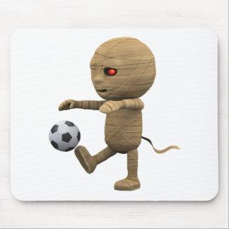 3d Mummy Football Mousepad