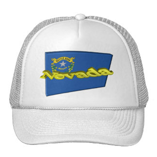 3D Nevada State Flag Cap