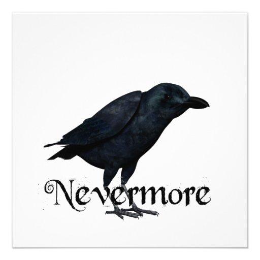 3D Nevermore Raven