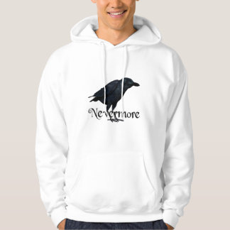 3D Nevermore Raven Hoodie