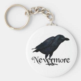 3D Nevermore Raven Key Ring