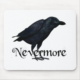 3D Nevermore Raven Mouse Pads