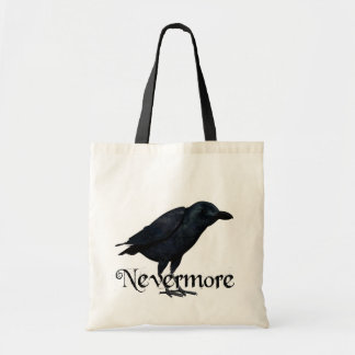 3D Nevermore Raven Tote Bag