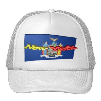 3D New York State Flag Cap