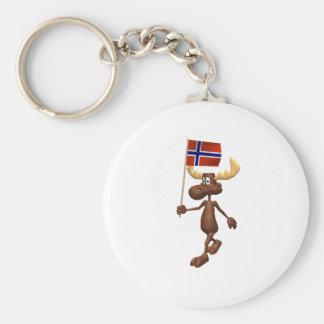 3D Norway Key Ring