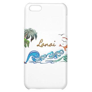 3d Palms Waves Sunset LANAI iPhone 5C Case