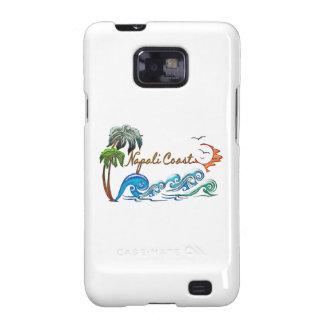 3d Palms Waves Sunset NAPALI COAST Galaxy SII Covers