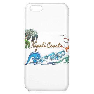3d Palms Waves Sunset NAPALI COAST iPhone 5C Cases