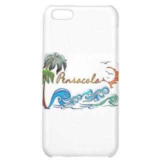 3d Palms Waves Sunset PENSACOLA iPhone 5C Case